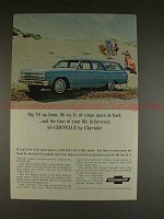 1965 Chevrolet Chevelle Station Wagon Ad, Time of Life!