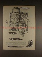 1980 Armstrong Tires Ad w/ Roger Staubach & Tom Watson!