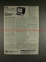 1982 Protecto Enterprises Commodore VIC Computer Ad!