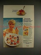 1982 Triscuit Ad w/ Shirley Jones - Keep it Light!!