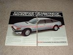 1982 2pg Rover 3500 SE Car Ad, Technology w/ Tradition!