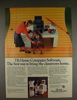 1983 Texas Instruments TI 99/4A Computer Ad, Bill Cosby