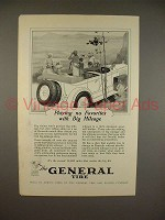 1926 General Cord Tire Ad - Playing no Favorites