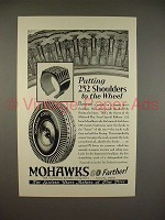 1929 Mohawk Balloon Tire Ad - 252 Shoulders!