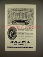 1930 Mohawk Balloon Tire Ad - Beauty of Utility