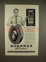 1930 Mohawk Balloon Tire Ad - Distinguished!