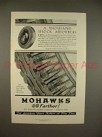 1930 Mohawk Balloon Tire Ad - Shock Absorbers