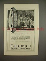 1923 Goodrich Silvertown Cord Tire Ad - Long Run!