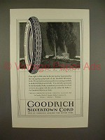 1923 Goodrich Silvertown Cord Tire Ad - Best!