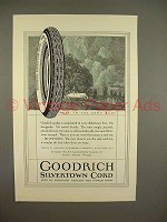 1923 Goodrich Silvertown Cord Tire Ad, Best in Long Run