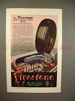 1933 Firestone Tire Ad - A Century of Progress!