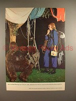 1965 Falstaff Beer Ad - Skydiving - Free Fall!