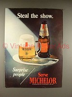 1971 Michelob Beer Ad - Steal the Show!