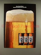 1980 Pabst Blue Ribbon Beer Ad - Quality!