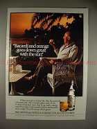 1983 Bacardi Ad w/ Telly Savalas - Goes Great with Sun!