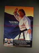 1993 Right Guard Deodorant Ad w/ Chuck Norris, Defense!