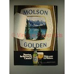 1981 Molson Beer Ad - Thirsting for the Best