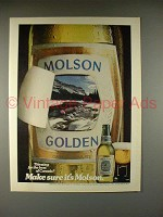 1981 Molson Beer Ad - Best of Canada