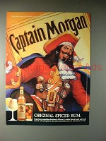 1994 Captain Morgan Spiced Rum Ad!