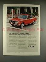1971 Toyota Mark II Car Ad - Can't Hear Engine!