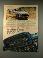 1980 Toyota SR-5 Sport Truck Ad - Sports Car of Trucks!