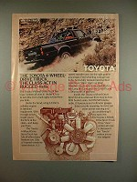 1982 Toyota SR5 Sport Truck Ad - The Class Act!