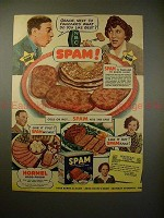 1941 SPAM Ad w/ George Burns & Gracie Allen - Pancakes!
