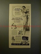 1939 Post Toasties Cereal Ad w/ June Duprez - High Bike