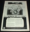 1957 Konica III Camera Ad - Lens Alone Worth the Price!