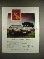 1987 Aston Martin Lagonda Car Ad - Instruments Pleasure