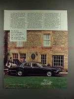 1989 Jaguar XJ6 Car Ad - Affection for Art & Tradition!