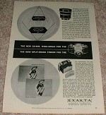 1953 Exakta VX Camera Ad - Split-image Finder NICE!!