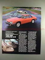 1989 Jaguar XJ-S XJS Car Ad - An Elegant Application!!