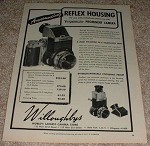 1953 Voigtlander Prominent Camera Ad, Reflex Housing!!