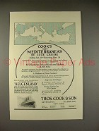 1923 Thos. Cook & Son Belgenland Cruise Ship Ad!