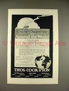 1925 Thos. Cook & Son Cruise Ad - Franconia