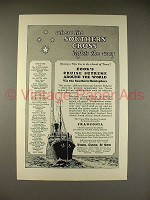 1926 Thos. Cook & Son Cruise Ad - Franconia