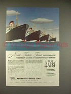 1948 American Export Lines Cruise Ship Ad!