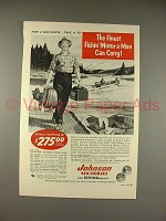 1953 Johnson Sea Horse Outboard Motor Ad - Finest!