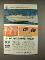 1967 Chrysler Hydro-Vee Charger 183 Boat, Outboard Ad