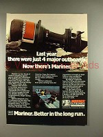 1978 Mariner Outboard Motor Ad - Last Year There Were 4