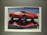 1990 Ferrari Car Ad - The Tradition Continues!!!