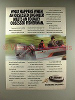 1991 Mariner Outboard Motor Ad - Equaly Obsessed