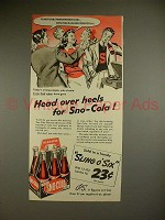 1941 Sno-Cola Soda Ad - Head over Heels