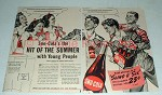 1941 Sno-Cola Soda Ad - Hit of The Summer
