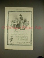 1899 Franco-American Soup Ad - Ox-Tails are Examined