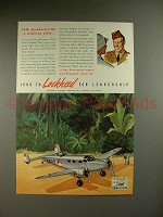 1941 Lockheed Hudson Airplane Ad - Talk Military Pilot