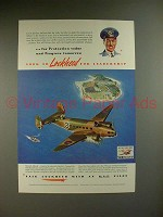 1941 Lockheed Hudson Airplane Ad - Royal Air Force