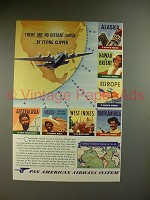 1941 Pan American Airways Clipper Ad - No Distant Lands