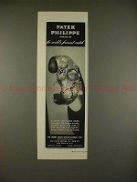 1947 Patek Philippe Fish Bangle Bracelet Watch Ad!!